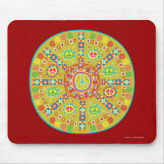 Peace Symbols Design Mousepad