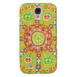 Peace Symbols Design Samsung Galaxy S4 Cover