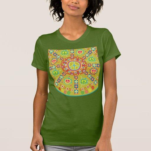 Peace Symbols Design Shirt