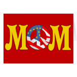 Peace T-shirts and Gifts For Mom Card