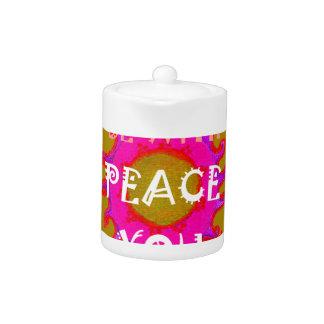 Peace Teapot