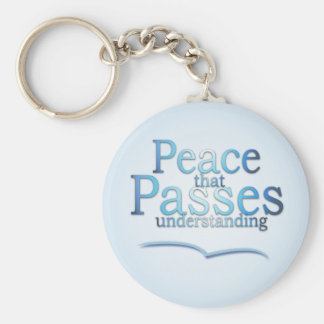 Peace that passes understading key chain