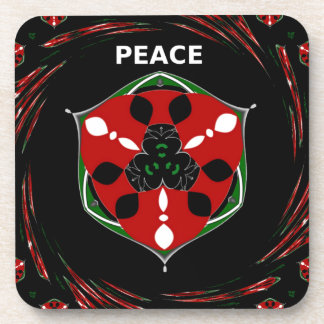 Peace  That Surrounds everything Coaster