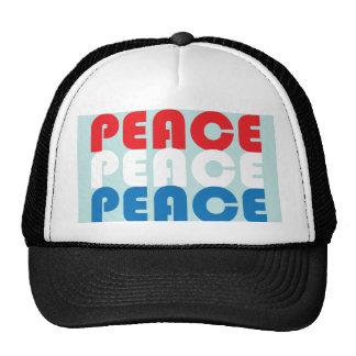 Peace Three Times Trucker Hat