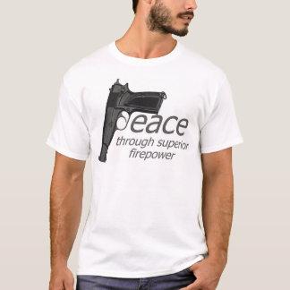 peace through firepower T-Shirt