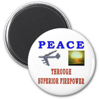 PEACE THROUGH REFRIGERATOR MAGNETS