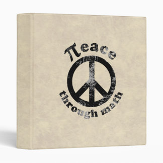Peace Through Math Binder