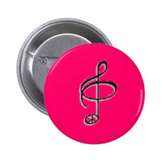 peace through music pin