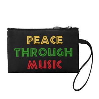 Peace Through Music Coin Purse