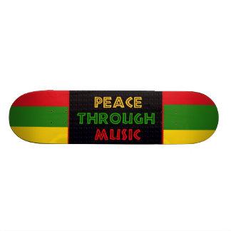 Peace Through Music Skate Decks