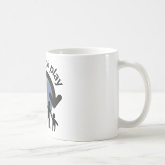 Peace through Play Mug