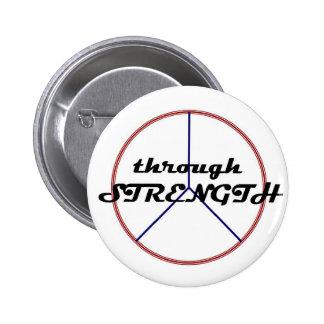 Peace through Strength button