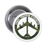 Peace Through Strength Buttons