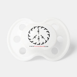 Peace Through Strength Baby Pacifier