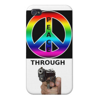 PEACE THROUGH STRENGTH PRODUCTS CASE FOR iPhone 4