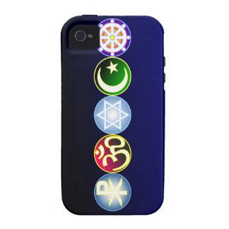 Peace Through World Religions Case-Mate iPhone 4 Cases