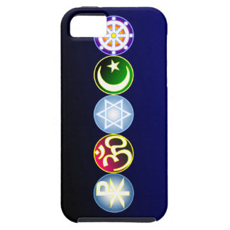 Peace Through World Religions iPhone 5 Cover