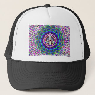 Peace thru ART Trucker Hat