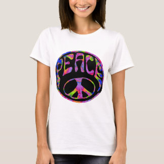 Peace - Tie Dyed Foreground T-Shirt