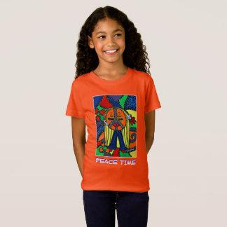 Peace Time - Orange - Time Pieces T-Shirt