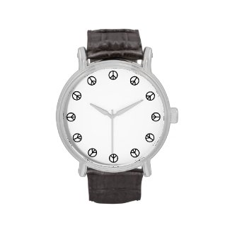 Peace Time Wrist Watches