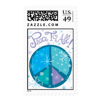 Peace to all! Postage stamp