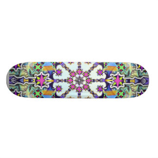 Peace to the Galaxy Skateboard Deck