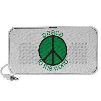 Peace to the world laptop speakers