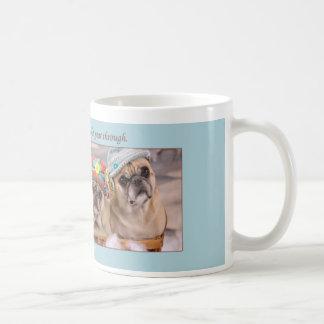 Peace to You Winter Pug Mug by Pugs and Kisses