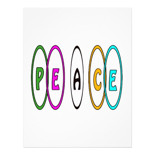Peace Together Custom Flyer