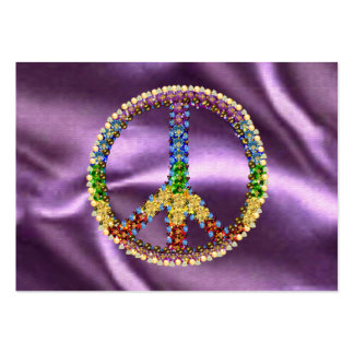 Peace Treasure Large Business Cards (Pack Of 100)