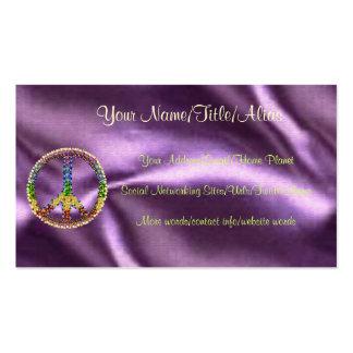 Peace Treasure Business Card