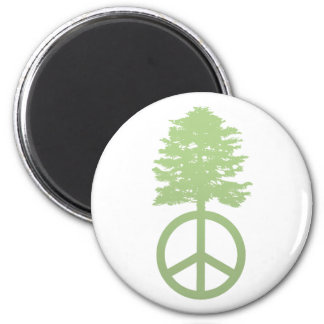 Peace Tree Magnet