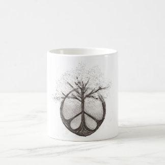Peace/Tree Mug