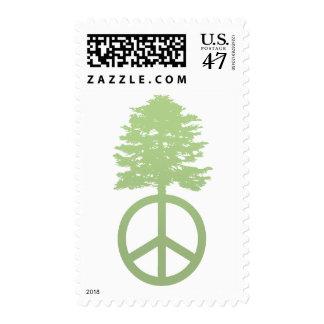 Peace Tree Postage