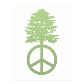 Peace Tree Postcard