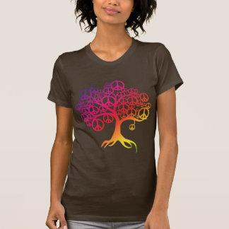 Peace Tree T Shirts