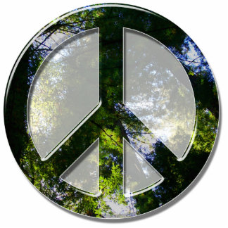 Peace Trees Ornament Photo Cutouts