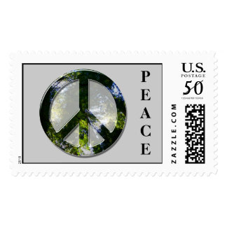 Peace Trees Postage