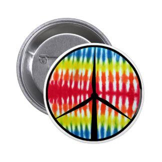 Peace Turbine 2 Inch Round Button