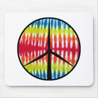 Peace Turbine Mouse Pad