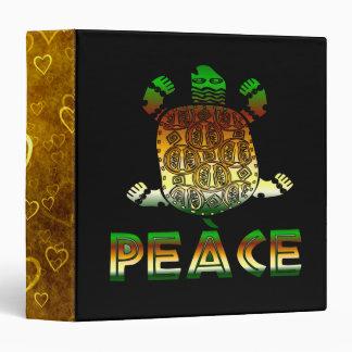 Peace Turtle Binder