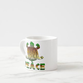 Peace Turtle Espresso Cup