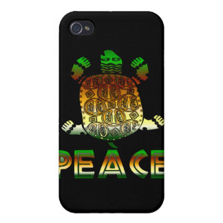 Peace Turtle iPhone 4/4S Covers