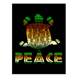 Peace Turtle Post Cards
