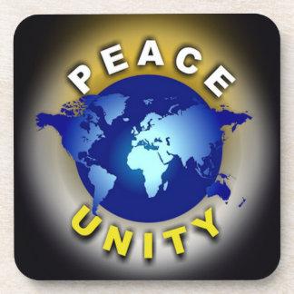 Peace/Unity Coasters