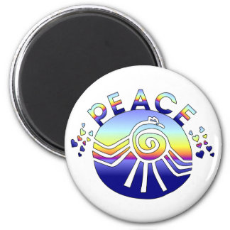 Peace Universe 2 Inch Round Magnet