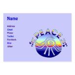 Peace Universe Business Card Templates
