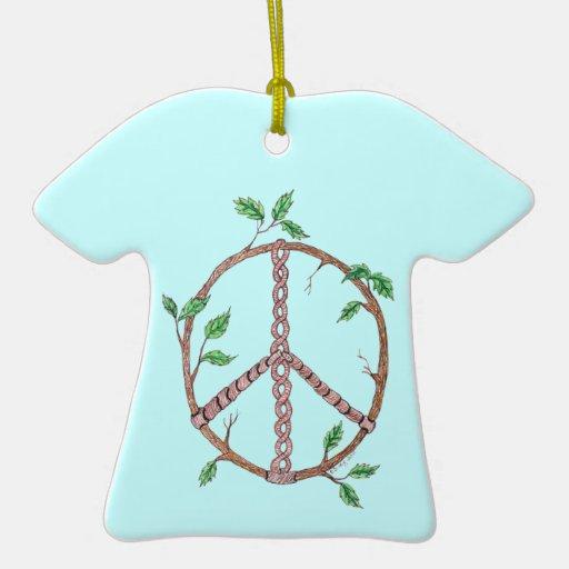 Peace Vine Art Ornaments