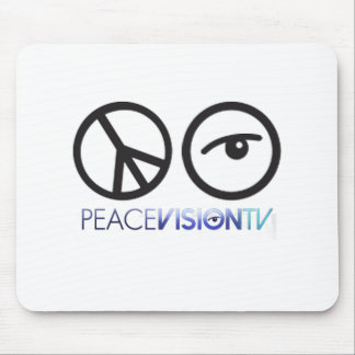 Peace Vision TV Mouse Pad